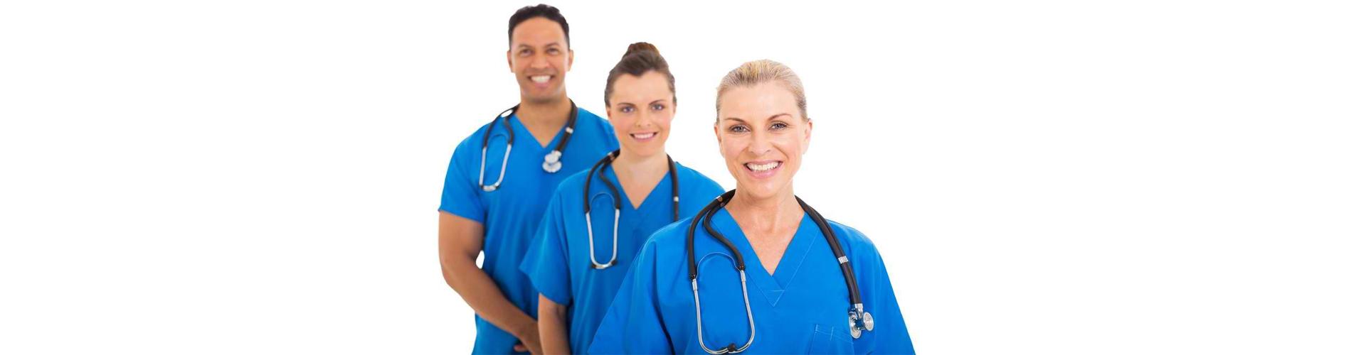 group of nurse smiling